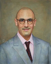 Custom Portrait Oil Painting from Picture, Photo to oil Painting & watercolor