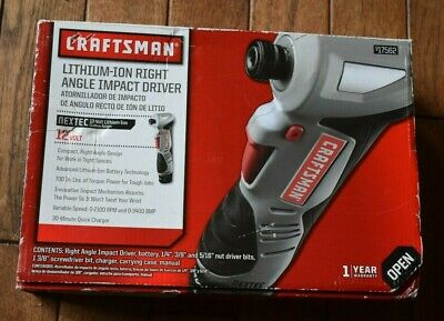Craftsman lithium ion right angle impact drivers for mac os