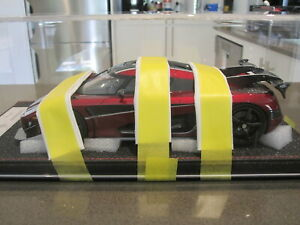 1-18-FRONTIART-KOENIGSEGG-AGERA-RS-WORLD-RECORD-CAR-BURGUNDY-NEW-81-OF-198