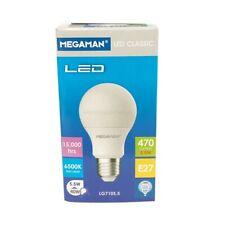 Warm White Two x Megaman 4 Watt GA604 Ultra Compact Classic Bulb E27 Screw Fit