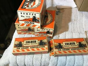 Vintage-Colber-111-Illuminated-Bumper-3-and-114-Snap-on-Contactor-1-W-Boxes