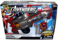 Avengers Iron Man Firestrike Assault Jet Toy Vehicle Marvel Comics Hasbro