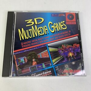 Vintage 1994 3D MultiMedia Games CD-ROM 8 Lot Rare Virtual Reality PC Games DOOM