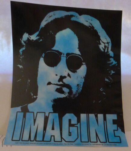 John Lennon NY sticker Licensed NOS Beatles sticker imagine
