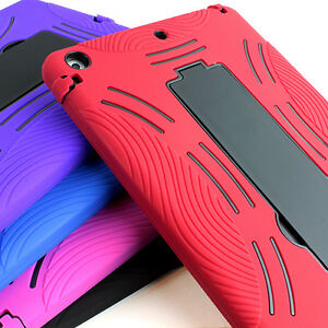 For-Apple-iPad-Air-Dual-Layer-Shockproof-Hybrid-Hard-Kickstand-Case-Cover