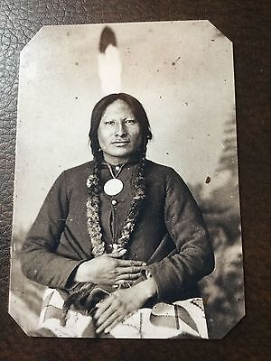 Lot of 4 Civil War tintypes Including Lincoln /& Native American C052RP $39.99