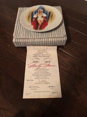 COA Chris Notarile The Magic of Marilyn Monroe STRASBERG/'S STUDENT Plate #5