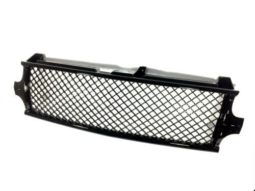 for 99-02 Silverado 1500 Black ABS Classic Mesh Font Grille Grill 1999 2002