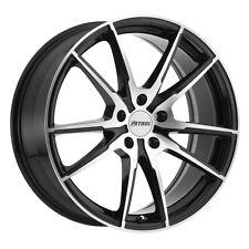 17 inch 17x8 PETROL P0A Gloss Black wheel rim 5x4.49 5x114 +40