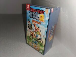 NEW-MINT-Factory-Sealed-Asterix-and-Obelix-XXL-2-Limited-Edition-Nintendo-Switch