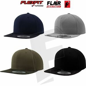 Flexfit By Yupoong Camo Visor Snapback Hat Hip-Hop Baseball Cap One ... 13c4cf0bcee8