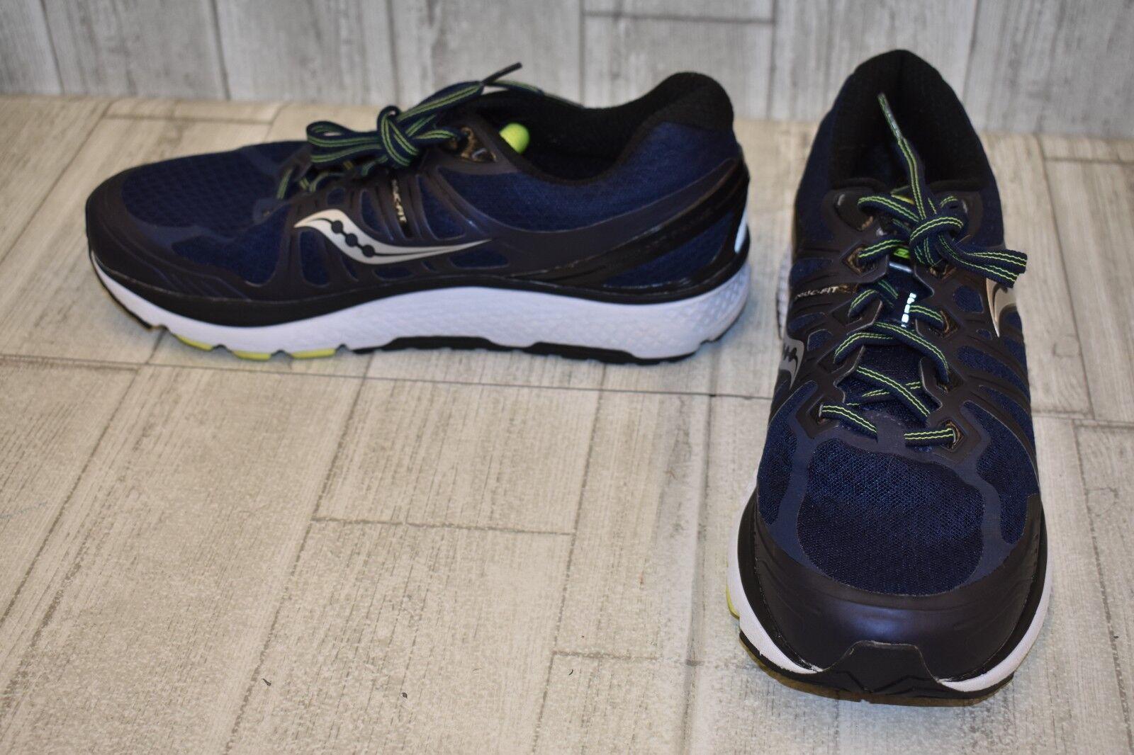 Saucony Echelon 6 Running shoes, Men's Size 11.5, Navy Black Silver