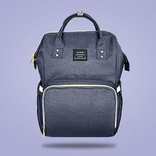 Mummy Dad Maternity Nappy Diaper Bag Baby Nursing Large Capacity Travel Backpack