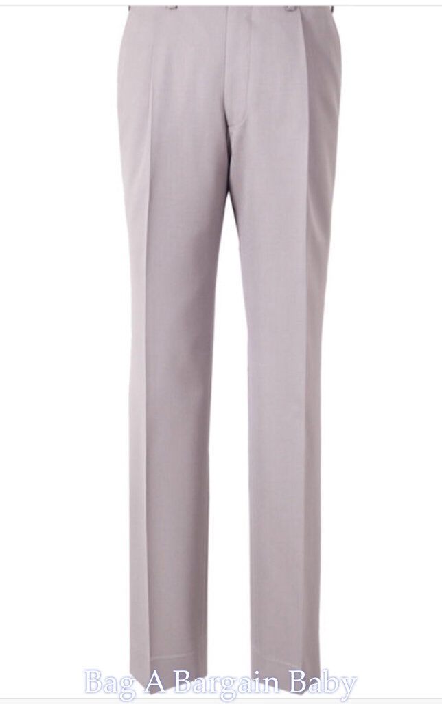 Mens Trousers x 2 Anthony Squires  Lanzo  sizes 100  92 100% Cotton RRP