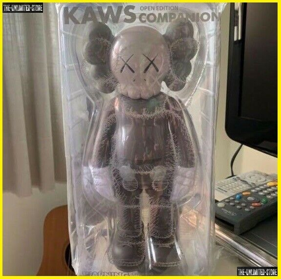 KAWS BlauSH Dissected Companion braun Originalfake Action Figure