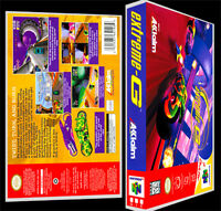 Extreme - N64 Reproduction Art Case/box No Game.