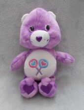 "Official Care Bears Share Bear - Soft Plush Toy / Teddy - Approx 8"" Tall"