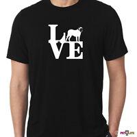 Love Mastiff Tee Shirt Park English