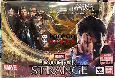 Marvel Doctor Strange & Burning Flame Set Bandai Tamashii S.h Figuarts Figure