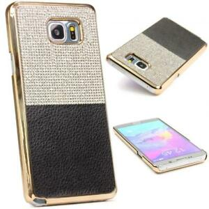 Urcover-Samsung-Galaxy-Note-5-Housse-De-Protection-Paillettes-Bling-Back-Case-Cover-Strass