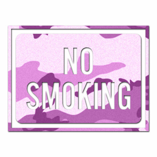 ebn4009 No Smoking Business Sign Multiple Patterns /& Sizes Decal Sticker