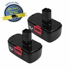 2 Pack Cordless 19.2 Volt Replacement Battery for Craftsman C3 DieHard Drill NEW