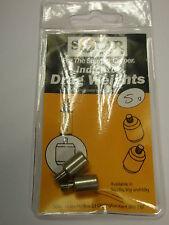 Solar Stainless Ipro Indicator Drag Weights 5g 2pk Carp fishing