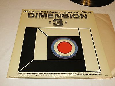 Dimension 3 Enoch Light Brigade love and marriage LP Album RARE Record vinyl