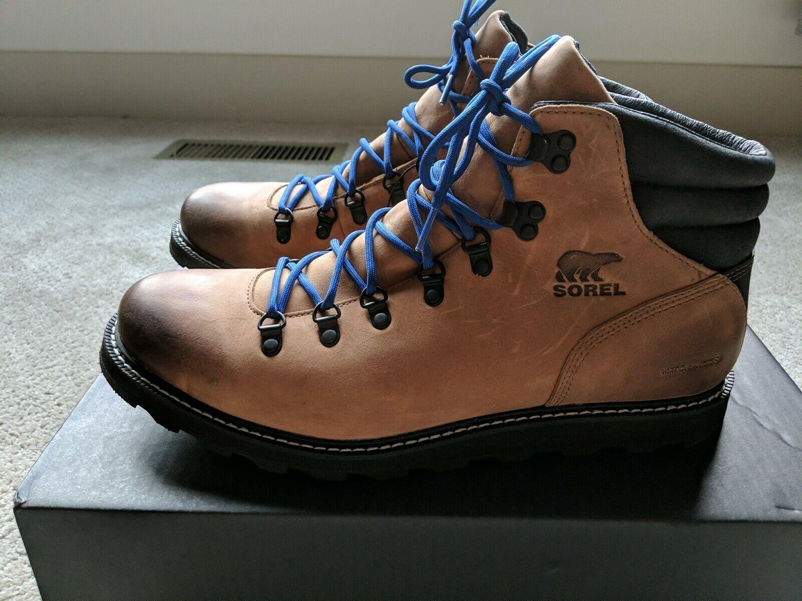NIB SOREL Madson Hiker Waterproof Boot
