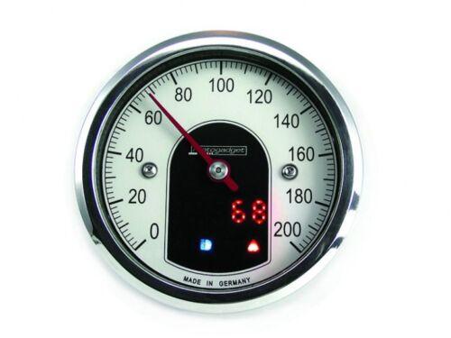 MOTOGADGET Motoscope Tiny Speedometer Polished MST Cafe MG5001012