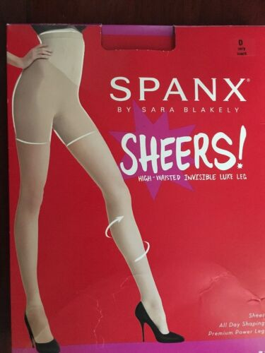20024R//20025R SPANX Sheers HIGH WAISTED//REGULAR INVISIBLE LUXE LEG