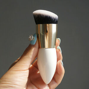 Make-up-Pinsel-Kabuki-Form-Gesichts-Blush-Brush-Powder-Foundation-Werkzeug-T5V0