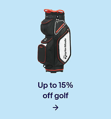 Up to 15% off golf