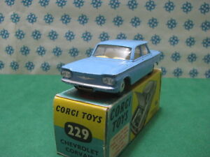 Vintage-CHEVROLET-CORVAIR-Corgi-toys-229
