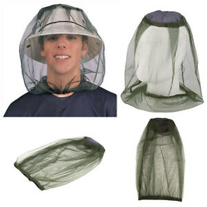 Mosquito Cap Midge Fly Bug Insect Bee Hat With Net Mesh Head Face Protector Fishing Hat Garden Outdoor Camping Hiking Hunting Wide Selection; Home & Garden Protective Clothing