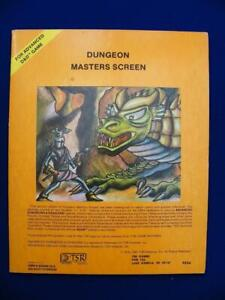 AD&D Dungeon Masters Screen - TSR 9024 - 6th Print - TSR9028 - VG