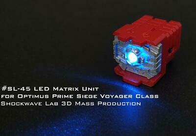 4Pcs 3D Shockwave Labs SL-51 Upgrade Kit For Soundwave Siege Voyager Class K2H4