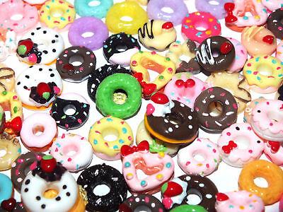 CHOOSE COLOUR 20 Tiny Gummi Bears Haribo FAKE Sweets Decoden Craft DIY Resin
