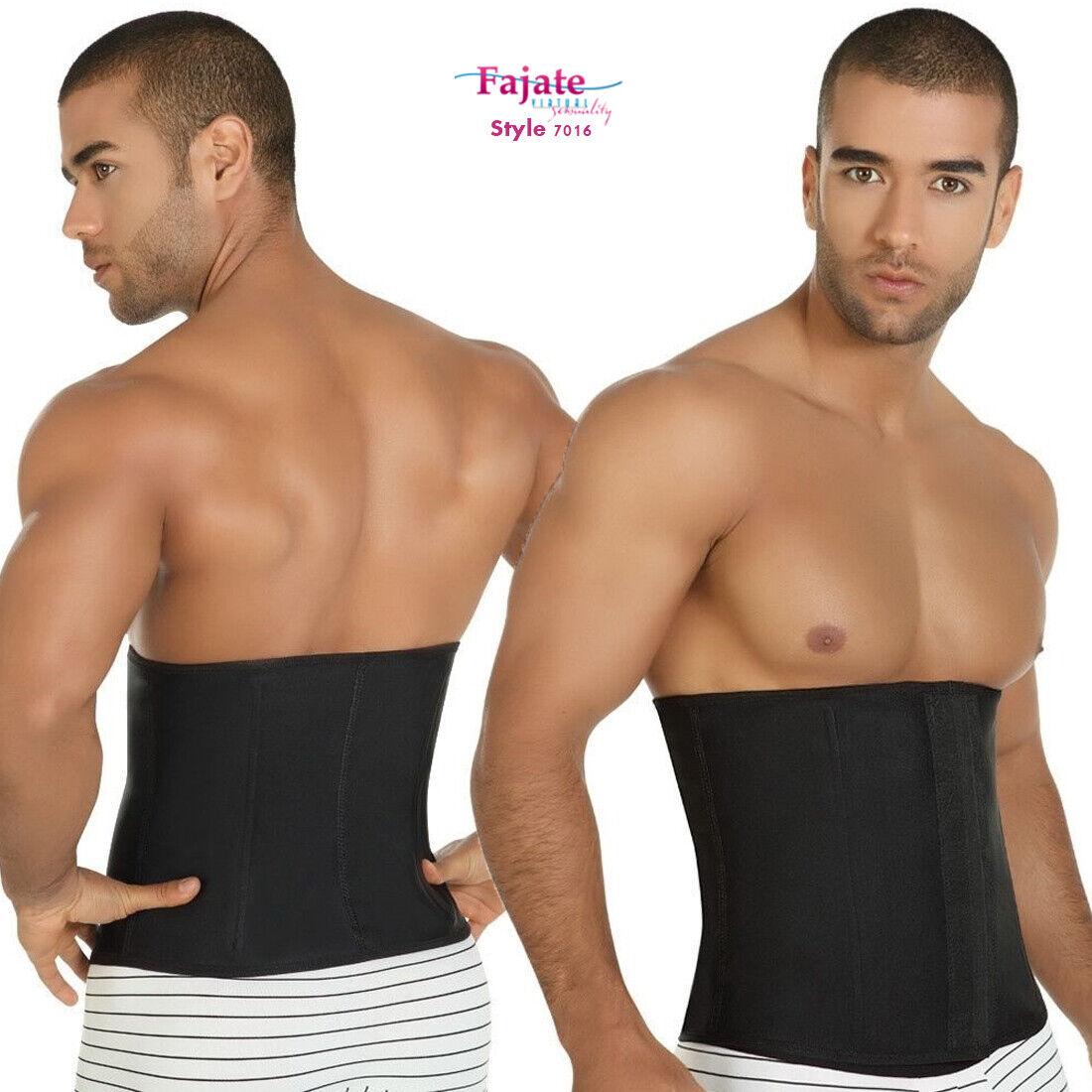 Mens Faja Para Hombre Cinturilla Slimming Waistband Cincher Thermal Weight Loss