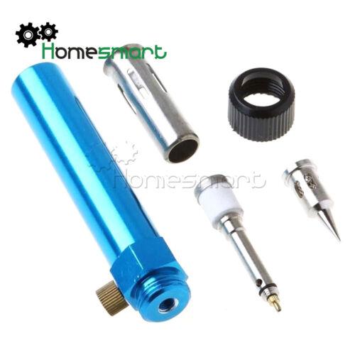 3in1 Gas Soldering Solder Iron Gun Butane Cordless Welding Pen Burner Tool AHS