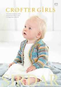 Sirdar-Crofter-Girls-Book-16-patterns-0-7yr-using-Snuggly-Baby-Crofter-475