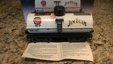 JIM BEAM CASEY JONES TANK CAR BEAM DECANTER  NEW