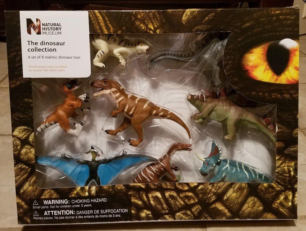 Dinosaurier - museum sammlung je 8