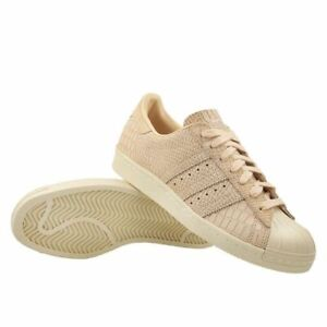 Details about adidas Superstar 80s Snakeskin Fashion Sneakers LinenBeige CQ2515 Sz: 6