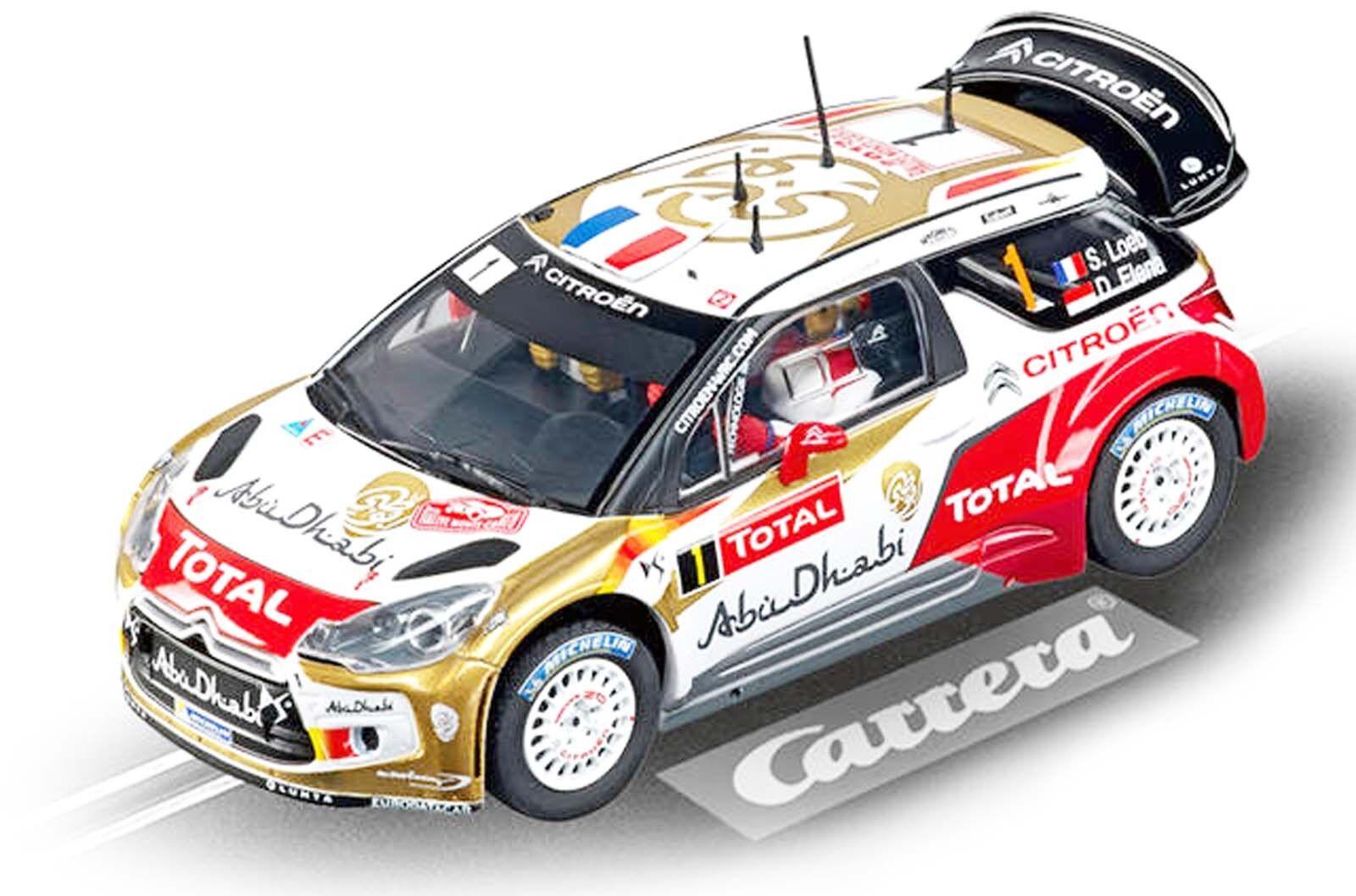 Carrera 20027460 EVOLUTION Citroén DS3 WRC  Abu Dhabi, No.1 No.1 No.1  1 32 NEU OVP  | Merkwürdige Form  af1472