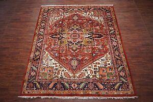 11x13 Persian Heriz Serapi Hand Knotted Wool Oriental Area Rug
