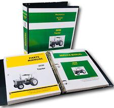 SERVICE PARTS OPERATORS MANUAL JOHN DEERE 2030 TRACTOR SHOP BOOK SN-187301UP