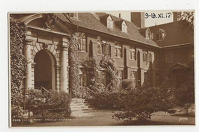 Old Porch Bromley College, Judges 2926 Postcard, A871