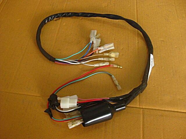 Honda Cs90 S90 Cl90 Harness Wire Wiring  U0026quot Black U0026quot   Es174