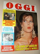 OGGI=1987/4=CAROLINE DE MONACO=TURI FERRO=BRUNO MUNARI=DALIDA LUIGI TENCO=GEGIA=